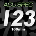 16cm (160mm) Race Numbers ACU SPEC (1 to 9)